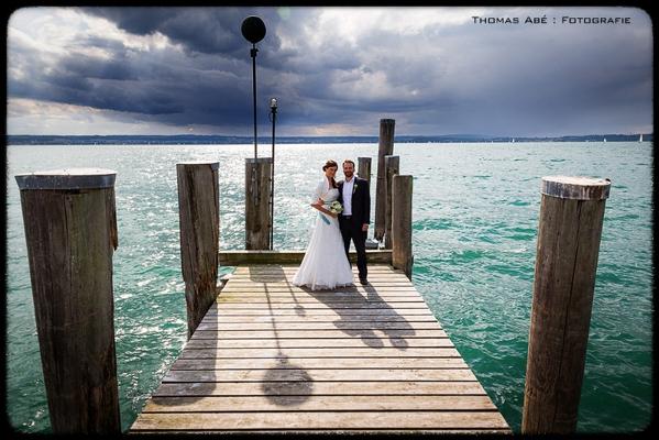 Eine wünderschöne Hochzeit bei einer tollen Lichtstimmung
